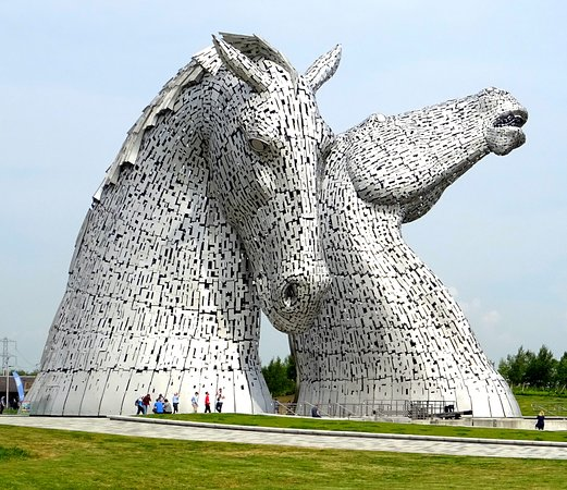 The Kelpies & The Helix: Fascinant......