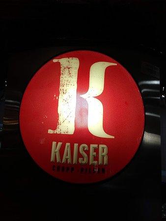 Churrascaria Bufalo Branco: Kaiser Bier