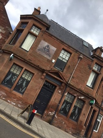 Dryburgh Arms Pub with Rooms: Outside