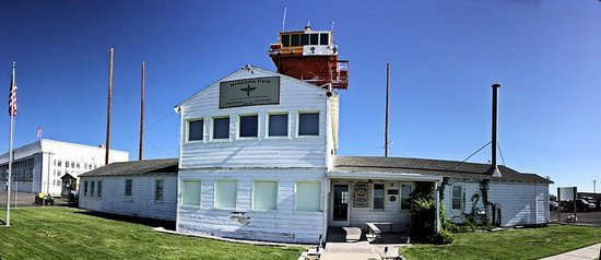 Historic Wendover Airfield: Main Building Front