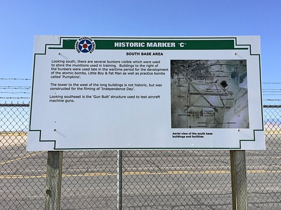 Historic Wendover Airfield: History