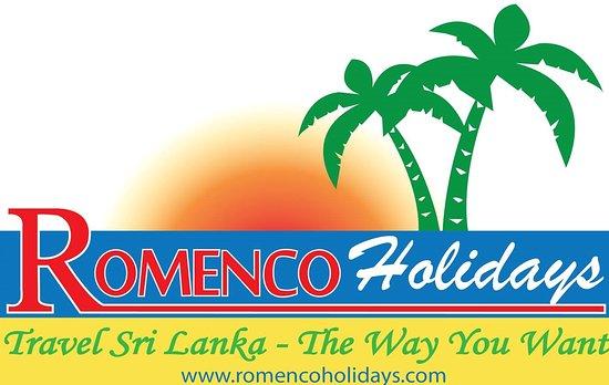 Hikkaduwa, Sri Lanka: Romenco Holidays Logo