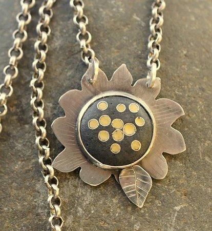 Art on Oak : Enamel and sterling silver jewelry by Kathy Watne