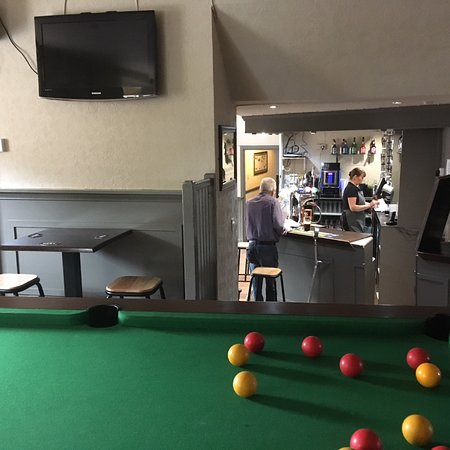 Dryburgh Arms Pub with Rooms: Bar Games Area