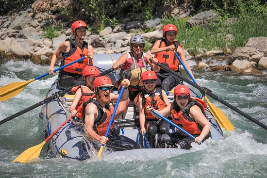 Canyon Raft Company: Smiles all the way through the Roller Coaster rapid