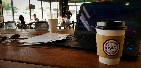 Bay34th Street Diner: coffee