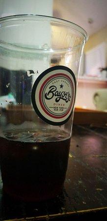 Bay34th Street Diner: ice tea