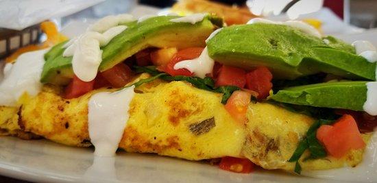 Bay34th Street Diner: omlette