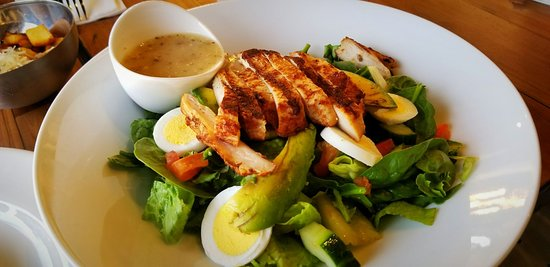 Bay34th Street Diner: greens and proteins