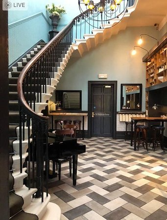 Front Lobby at the Churchill Hotel in York, England