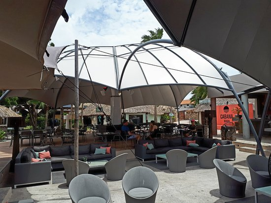 Cabana Beach Curacao: restaurant