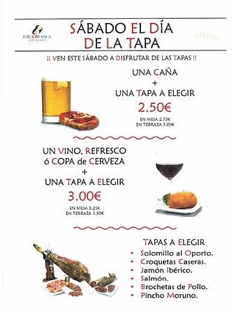 Bar Las Murallas de Camarena 99: Todos, los sábados, día de la TAPA.