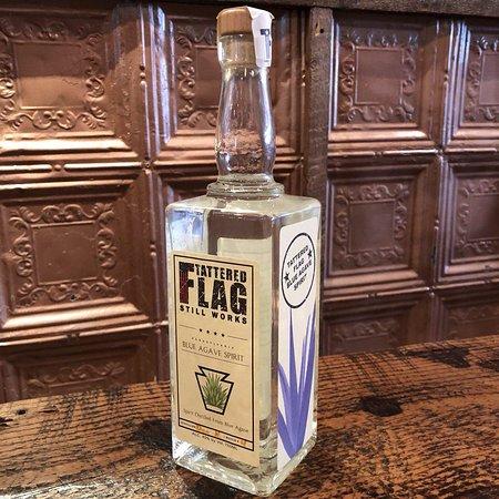 Tattered Flag Brewery & Still Works: Blue Agave Spirit (Tequila...medal winner)
