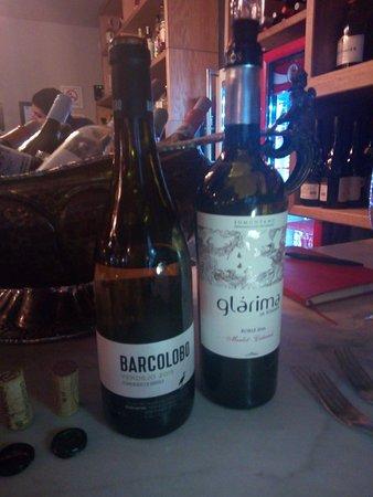 Agua y Sal Cebichería: Cata de vinos en restaurante Agua y Sal.