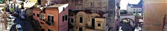 La Corte dei Naviganti B&B: stella maris: vista dal balconcino