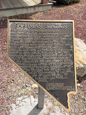 Sherman Station Visitor's Center: Shermsn Station