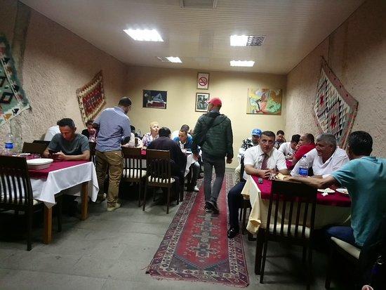 Evranos Restaurant: rehber odamız