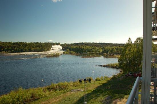 Hotell Storforsen: Dalla camera lato cascata