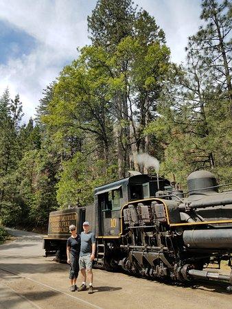 Fish Camp, Californien: Sugar Pine Steam Engine