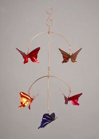 Haw Creek Forge: Butterfly Mobile