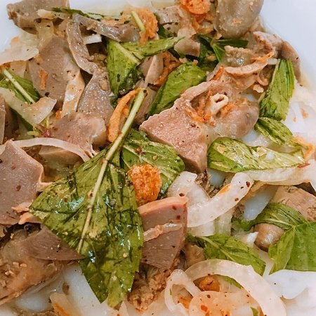 Banh Uot Long Ga : The specific food  ! Should eat this dish if you travel to Dalat !!!