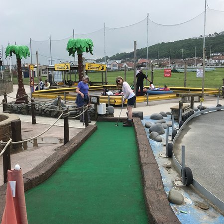Westward Ho, UK: Nice simple crazy golf