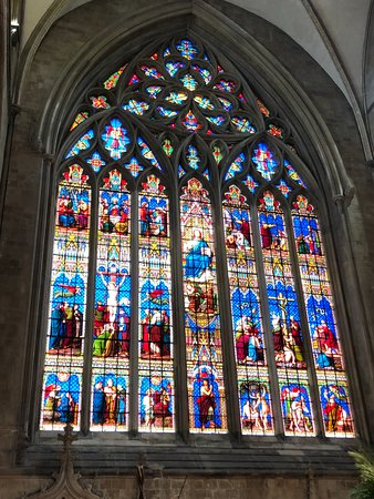 Chichester Cathedral: Stained Glass Window
