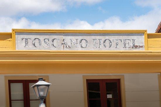 Sonoma State Historic Park: Toscano Hotel
