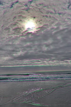 Denison Beach: What a sky!