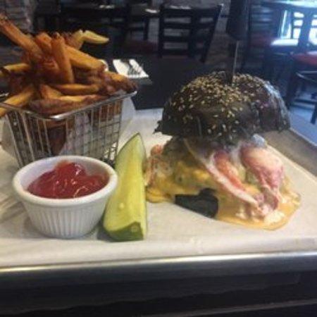 The Shake and Burger Bar: surf n turf burger