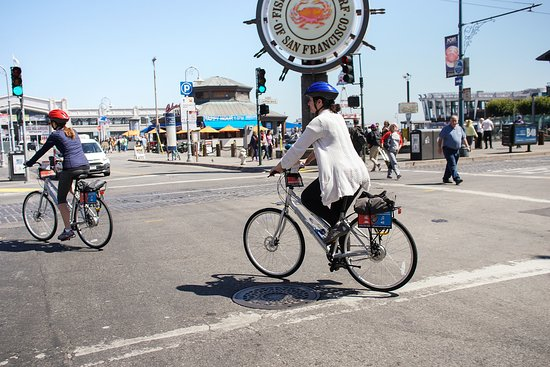 Wheel Fun Rentals: Located in Fisherman's Wharf, we're close to all the action.