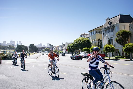 Wheel Fun Rentals: Bike rentals are great group activities for your next event in San Francisco