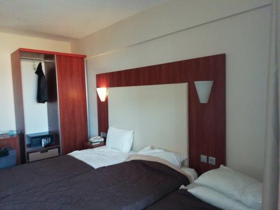 Messonghi Beach Resort: three bed wardrobe