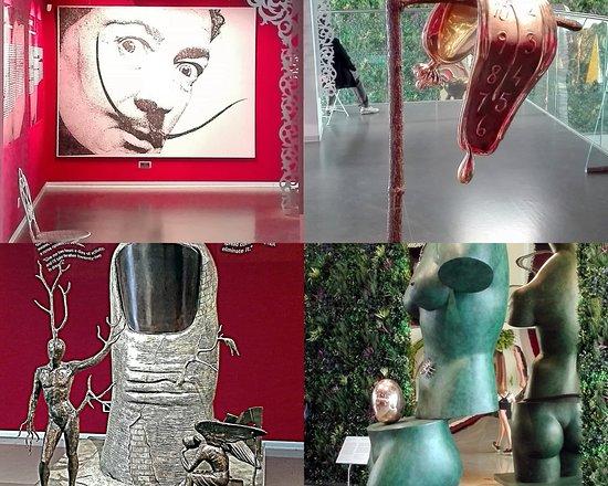 พิพิธภัณฑ์เอราร์ตา และพื้นที่แสดงศิลปกรรมร่วมสมัย: На выставке Дали