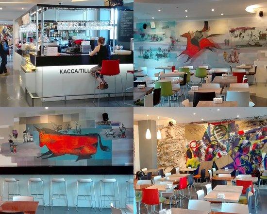พิพิธภัณฑ์เอราร์ตา และพื้นที่แสดงศิลปกรรมร่วมสมัย: Кафе музея