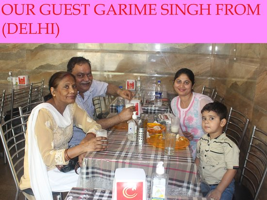 Charming Chicken : OUR GUEST FROM (DELHI)