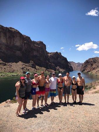 Halve dag kajaktocht in de Black Canyon vanuit Las Vegas: At the first stop - Beautiful Scenery!