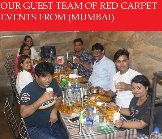 Charming Chicken : OUR GUEST TEAM OF RED CARPET EVENTS PVT LTD   FROM (MUMBAI)