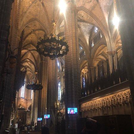 巴塞罗那大教堂照片