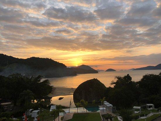 Club Med Rio Das Pedras: Vue suite 5T au lever du soleil