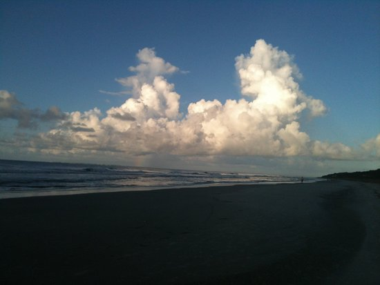 Hilton Head, SC: Sea Pines beaches and fluffy clouds