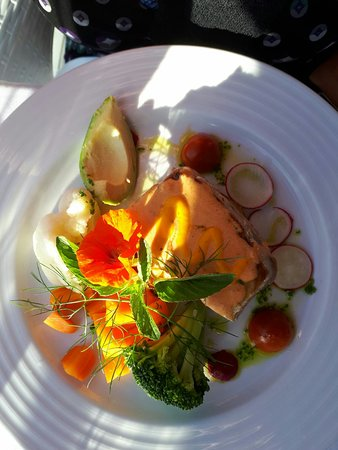 Sea View Restaurante : Mooie borden.