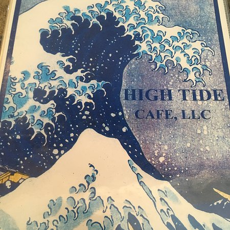 High Tide Cafe: Lunch menu