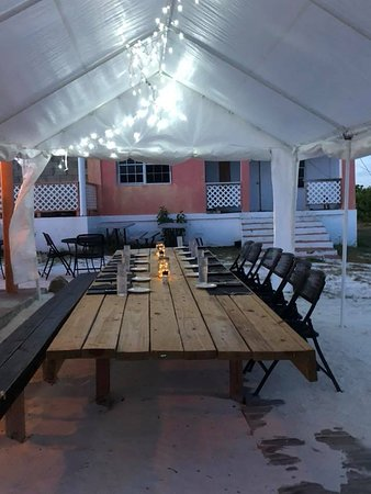 The Wonky Dog Restaurant & Bar: our private table