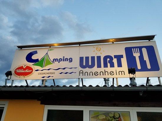 Annenheim, Austria: Camping Wirt
