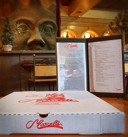 Marcello Pizzeria: Great selection of Antipasti, Pizza, Wood Oven Specialties, pastas, Gnocchi, Seafood and much mo