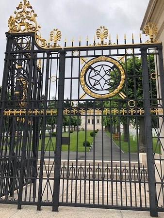 Suresnes American Cemetery and Memorial: The Beautiful Gates
