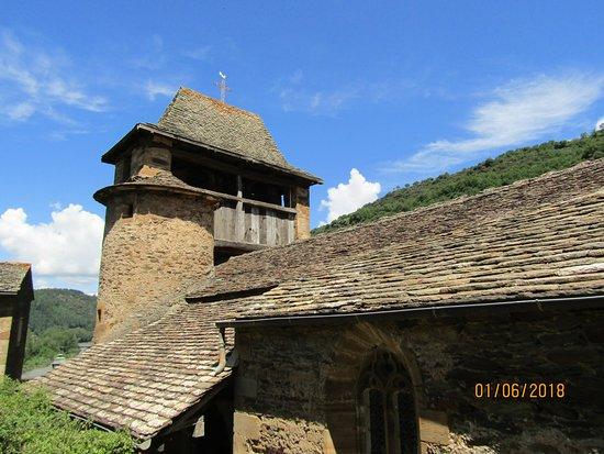 Brousse-le-Chateau, Frankrike: église de brousse le chateau