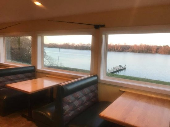 Randolph's on the River: Our Beautiful View!