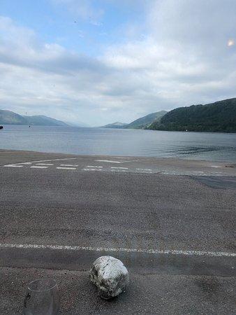 Ardgour, UK: View from dining room